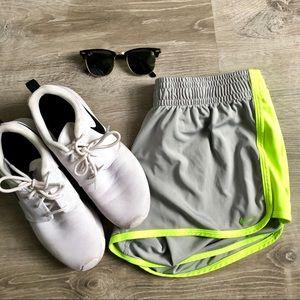 Nike gray dri-fit shorts